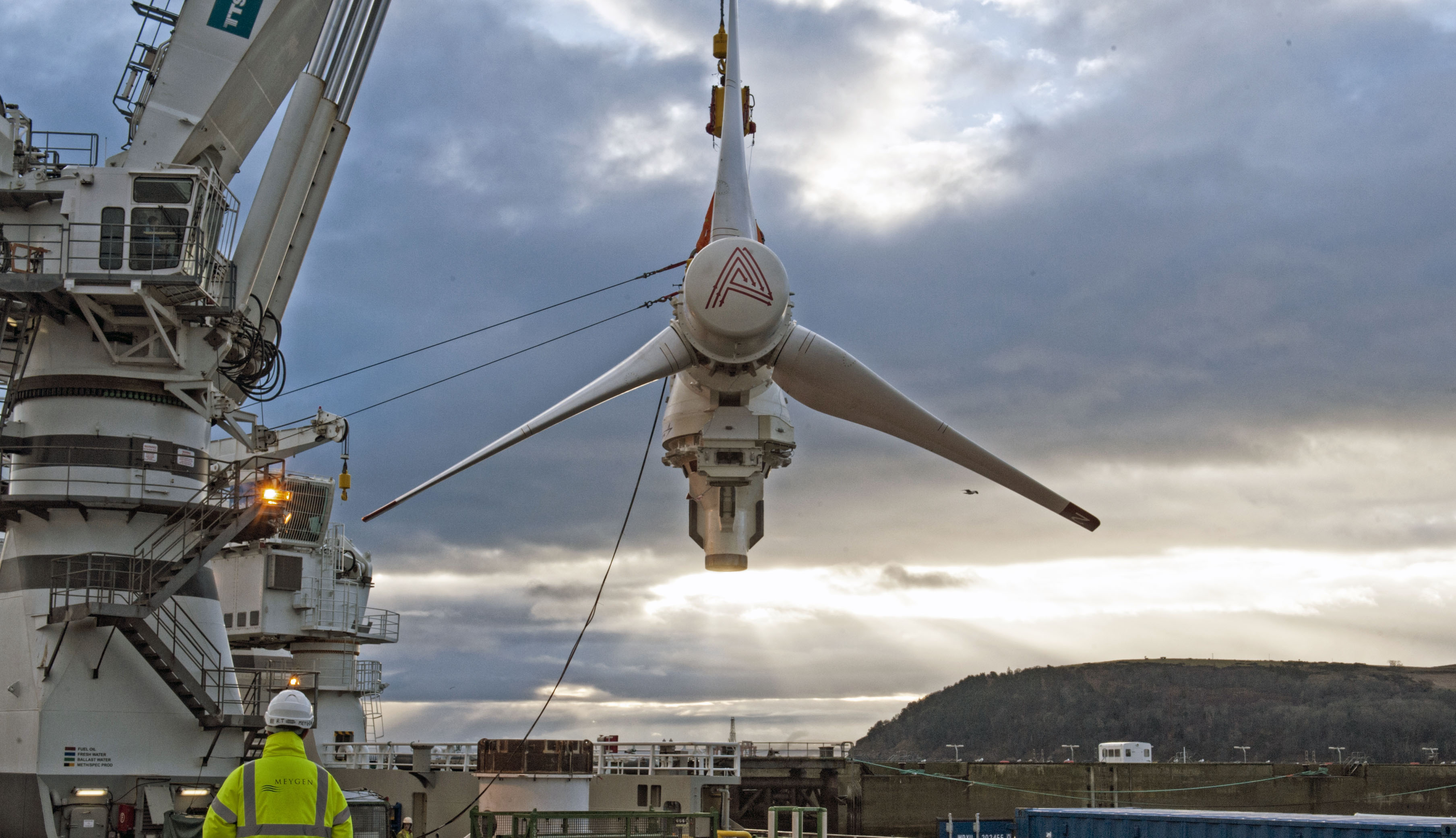 AR1500 Tidal Turbine Deployment